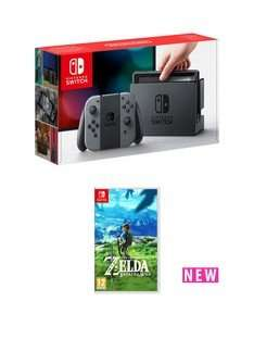Nintendo Switch and Legend of Zelda: Breath of the Wild (other bundles inside) - £303.98 @ Very (with code 6TH9J)