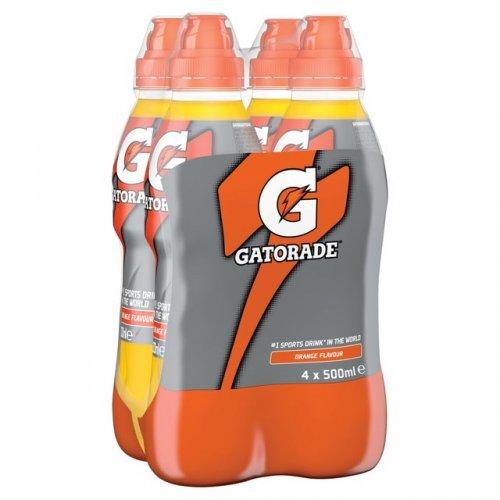 Gatorade orange 4 x 500ml bottles only £1 instore @ Home Bargains !