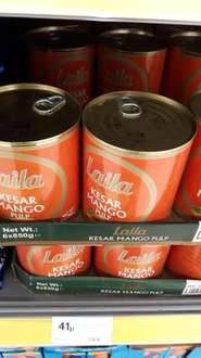 Laila Mango Pulp  850g only 41p instore at Morrisons