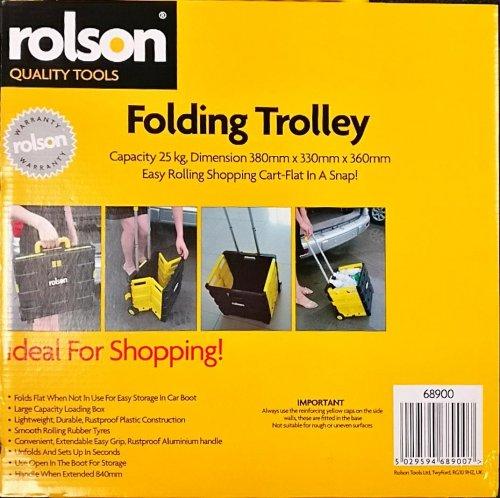Rolson Folding Trolley Reduced £8 @ Morrisons