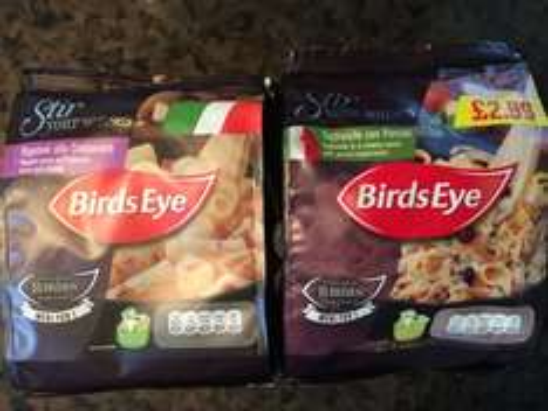 Birds Eye Stir Your Senses 99p @ Heron