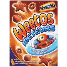 Weetos Meteors (375g) ONLY £1.00 @ Poundstretcher