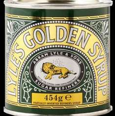 lyle's Golden syrup 454g 25p instore from tesco