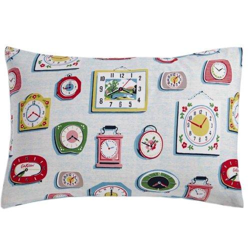 Cath Kidston Clocks Pillowcase £1 at Leekes