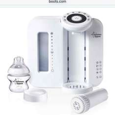 Tommee Tippee Closer to Nature Perfect Prep Machine white/black £60 at boots.com