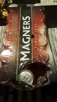 Magners 18 Can Crate 440ml bad boys £9 @ Asda