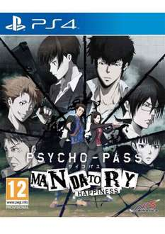PSYCHO PASS mandatory happiness (PS4) £24.85 @ simply games