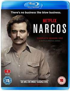Narcos Season 1 Blu Ray pre owned £8 instore at CEX