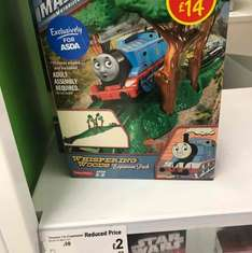 Thomas Track Master £2 instore @ ASDA, Chadderton Oldham
