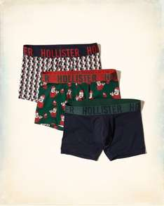 Hollister classic trunks 3 pack £10 - free click and collect