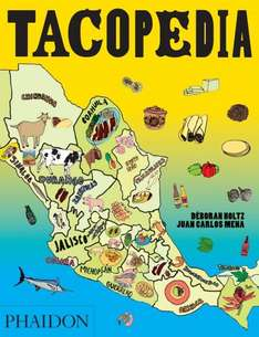 Tacopedia Cookbook (Published by Phaidon) RRP £20 reduced to £2.00 FREE C+C at Topman