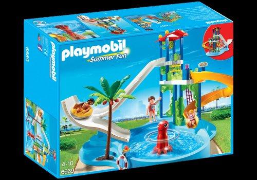 Playmobil 6669 Summer Fun Water Park with Slides £23.74 Tesco