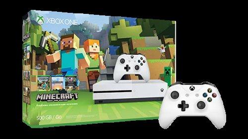 Xbox One S Minecraft Favourites Bundle (500GB) FREE Controller - £219.99 @ Microsoft Store