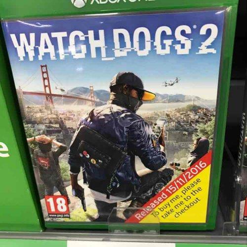 Watch Dogs 2 - £25 in tesco