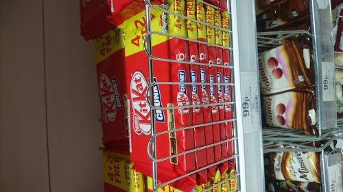 Kitkat chunky 4 + 2 free 99p Home Bargains
