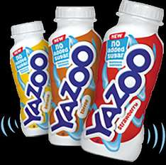 Free Yazoo Milkshake (no added sugar)
