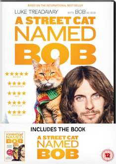 A Street Cat Named Bob DVD & Book (Limited Edition Set) £10 Pre-Order with Free Delivery @ zavvi