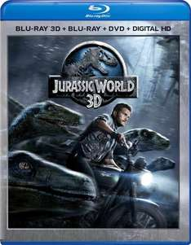 Jurassic World 3D Blu Ray + Blu Ray + Digital £4.79 delivered at base.com