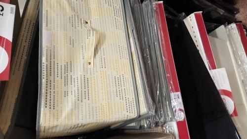 Storage boxes. £1.25 Wilkos