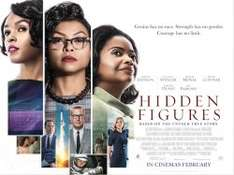 Hidden Figures Cinema Tickets 12/02/17