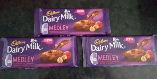 3 x 93g Dairy milk medley £1 @ B&M
