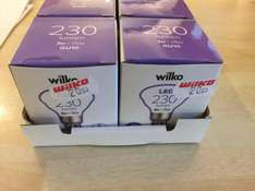 GU10 LED bulbs 230 lumen 3w = 35w 20p at Wilkinson instore, Canterbury