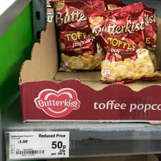 Butterkist Toffee Popcorn 50p - Asda