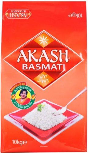 Akash Basmati Rice (10Kg) was £15.00 now £10.00 @ Ocado