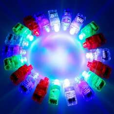 Anpro 100 of Super Bright LED Finger Lights for parties £9.99 prime / £13.98 non prime Sold by Anpro UK and Fulfilled by Amazon