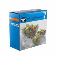 Ravenhead 7 piece serving bowl set for £3 instore @ Booths