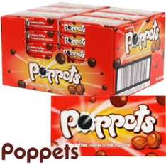 36 Boxes of toffee or mint Poppets only £10.44 / 29p per box @ home bargains free C&C