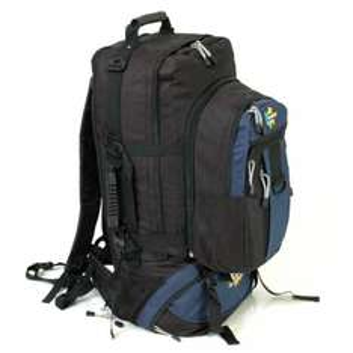 Karabar Globe Traveler 85+20 Litres Extra Large Backpack With Detachable Daypack (Black/Navy) £14.99 Prime / £19.74 Non Prime @ Amazon