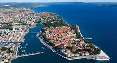 Zadar Croatia from London Stansted (11 - 18 may) return flight, shuttle bus 7 nights in 3* appartment £258.98 per couple or £129.49 per person !!!@ multilinks inc. ryanair and booking.com