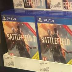 Battlefield 1 ps4 & Xbox one £32 @ asda instore