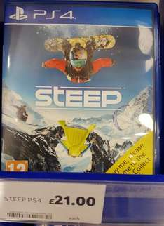 Steep PS4/Xbox One £21 Instore @ Tesco