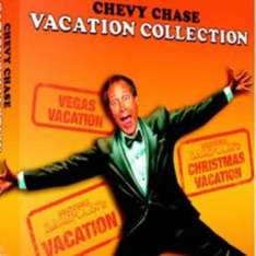 National Lampoon's Vacation Collection on DVD £1.78 with code