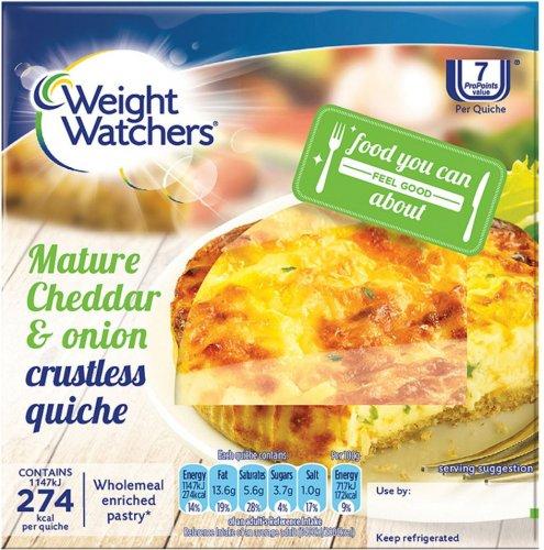 Weight Watchers Crustless Bacon & Leek Quiche 160g / Weight Watchers Crustless Cheese & Onion Quiche 160g was £1.55 now 2 for £2.00 @ Waitrose