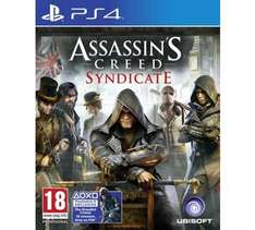 Assassin's Creed Syndicate Ps4 and Xbox One - £9.99 instore @ Sainsbury's