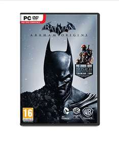 Batman: Arkham Origins (PC DVD) @ Amazon - £3.97 (Prime) £5.96 (Non Prime)
