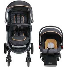 Graco fast action 2.0 travel system in lime and grey with car seat £50 in store only deal at asda