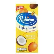 Rubicon Mango & Coconut 1L 2 for £1 @ Heron