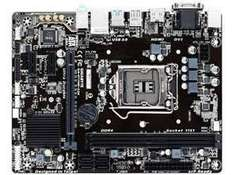 gigabyte lga 1151 matx/flex atx motherboard h110m-s2h *B-stock manufacturer repaired, signs of use* £19.99 + delivery @ Novatech