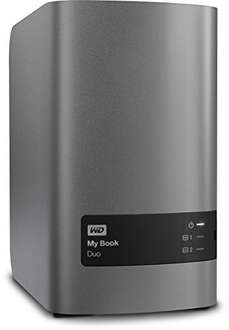 WD My Book Duo 12TB £348.89 @ Amazon