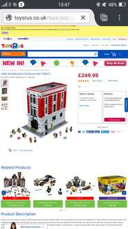 Lego Ghostbusters Firehouse (75827) £249.99 (poss £239.99) at Toys R Us