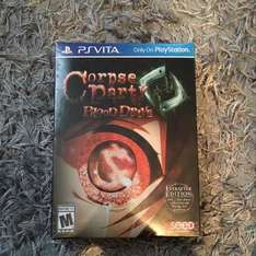 Corpse party: blood drive ever after edition psvita £12.99 Prime or £14.98 non prime @ Amazon