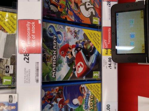 Mariokart 8 (wii u) £14 @ Tesco