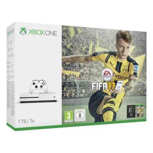 Xbox One S 1TB, FIFA 17, Forza Horizon 3, Additional Controller £279.99 @ Tesco Direct