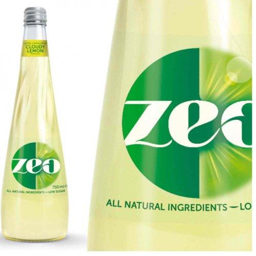 Zeo Cloudy Lemonade 750ml drink free@ Tesco