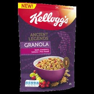 Kellogg's Ancient Legends Granola Spelt (400g) 79p at Heron Foods