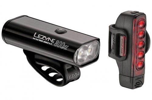 Lezyne Macro Drive 800XL and Strip Pro Light Set @ Evans Cycles £47.99